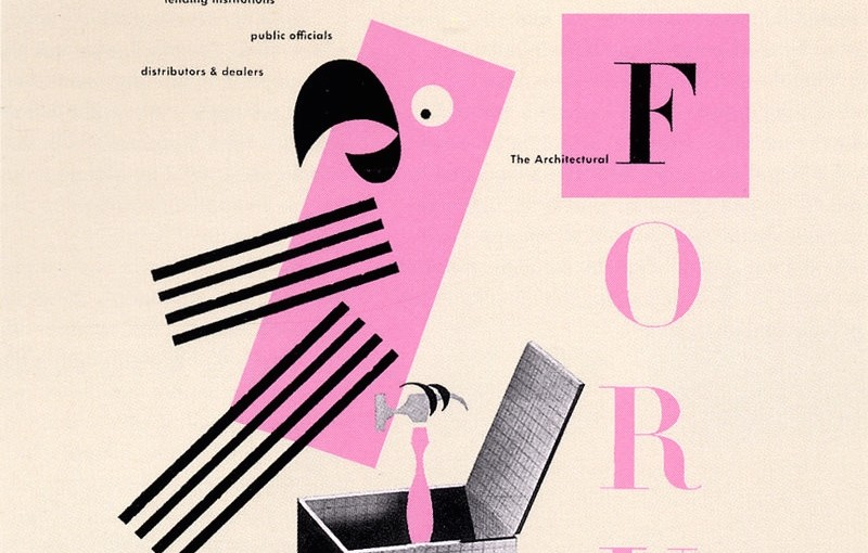 MAKI:minimag_Paul Rand_The Architectural Forum_1945_advertisment